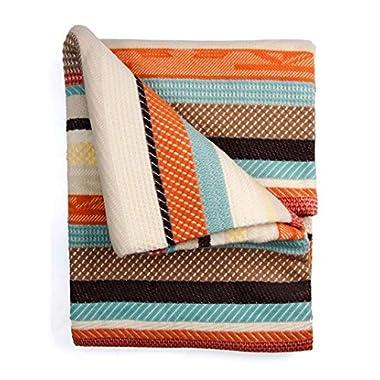Pendleton Cotton Jacquard Coral Chimayo Blanket, King