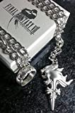 Final Fantasy VIII Squall Griever Necklace & Ring   FF8 Cosplay Dissidia Cloud Serah Lightning Anime