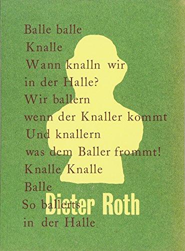 Dieter Roth. Balle balle Knalle: Kunstmuseum Stuttgart