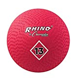 Champion Sports Playground Ball (Red, 13-Inch)