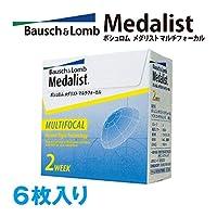 メダリスト マルチフォーカル 【BC】8.7【PWR】-3.25【加入度数】+2.5 D 6枚入
