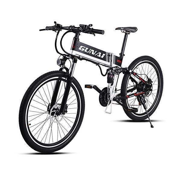 51AxDEqcy9L. SS600  - GUNAI Elektrofahrrad 26 Zoll E- Bike Mountainbike 21 Gang Kettenschaltung mit Scheibenbremse