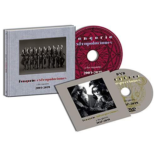 Fangoria - Extrapolaciones y dos respuestas 2001-2019 (Cd Disco Libro+ Dvd) Edición Firmada