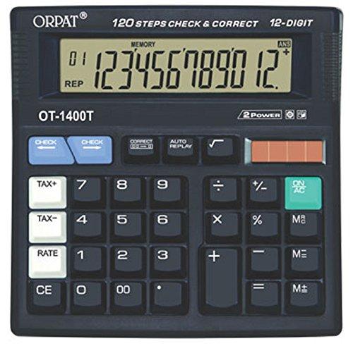 Orpat OT-1400 T Check and Correct Calculator