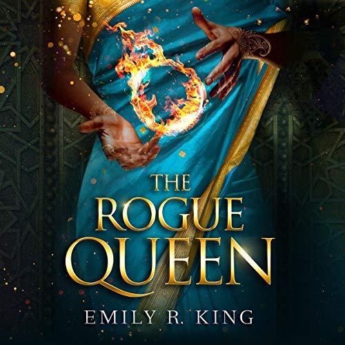 The Rogue Queen audiobook cover art