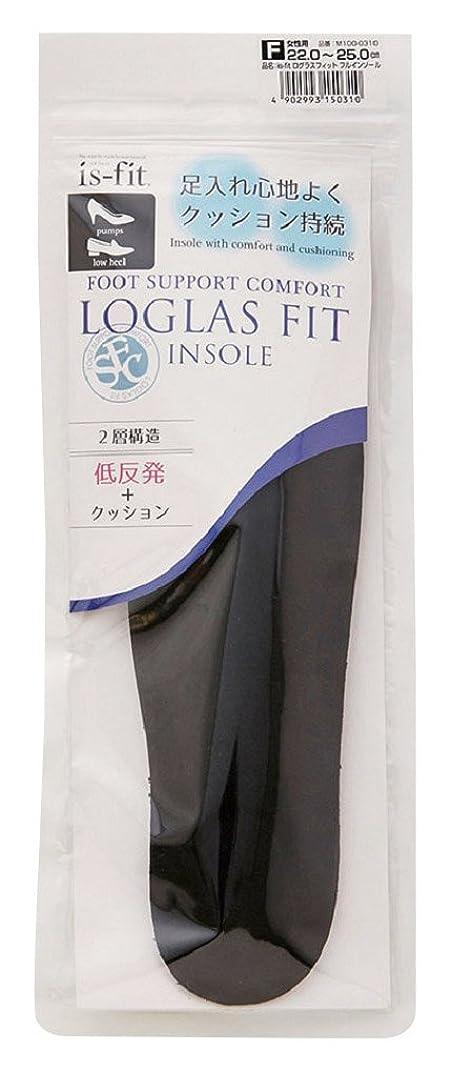 無許可薬用カニモリト is-fit(イズ?フィット) ログラスフィット フルインソール 女性用 フリーサイズ (22.0~25.0cm)