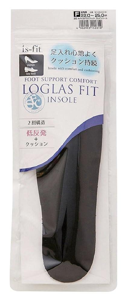 恐怖症ドロップ枕モリト is-fit(イズ?フィット) ログラスフィット フルインソール 女性用 フリーサイズ (22.0~25.0cm)