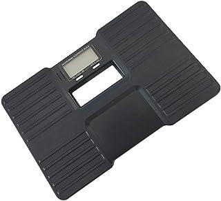 HJTLK Báscula de baño Digital, Báscula de Peso, Báscula de Grasa Corporal Bluetooth, Digital inalámbrico Inteligente y preciso, Máx.180 kg, Negro