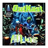 MXIBUN Plakate und Drucke Outkast Hip Hop Rap ATLiens Album