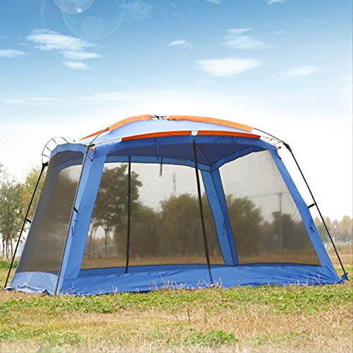 BRISEZZ Tent 4 Corner Garden Tent Ultralarge Beach Tent Gazebo Tent Barbecue Party Tent HRTT (Color : Green, Size : CHINA)