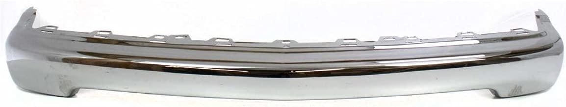 Bumper for Chevrolet S10 Pickup 98-04 Front Bumper Chrome