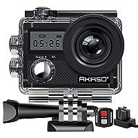 ✔【20MP Actionkamera mit ultra 4K Video】Mit 4K Ultral HD Video- und 20 MP Fotoauflösung ermöglicht die AKASO Brave 4 Model Action Kamera unglaubliche Foto- und Videoqualität, dank denen Sie die Schönheiten und Wunder des Lebens festhalten können ✔【4K ...