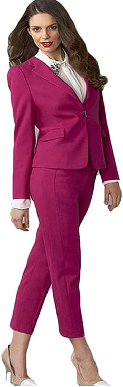 Suits for Women Blazer Set Ladies Office Suits Wedding Tuxedos Party Wear Suits