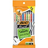 BIC Xtra-Life Mechanical Pencil, Clear Barrel, Medium Point (0.7mm), 10-Count, Packaging May Vary
