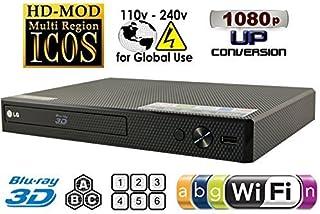 LG BPM-35 Region Free Blu-ray Player, Multi Region Smart WiFi 110-240 Volts, 6FT HDMI..