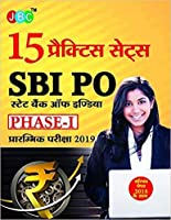 15 PRACTICE SETS SBI PO STATE BANK OF INDIA PHASE-I PRE. EXAM 2019 With Solved Paper 2018 (Hindi)