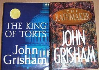 Lot 2 John Grisham Hardback Books First Edtions (The King of Torts ~ the Rainmaker )