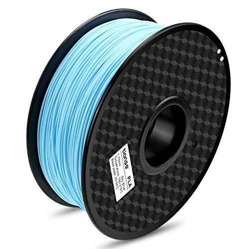 TIANSE Ceruleo filamento PLA per stampanti 3D, 1,75 mm, precisione dimensionale +/- 0,03 mm (2,2 lbs.)