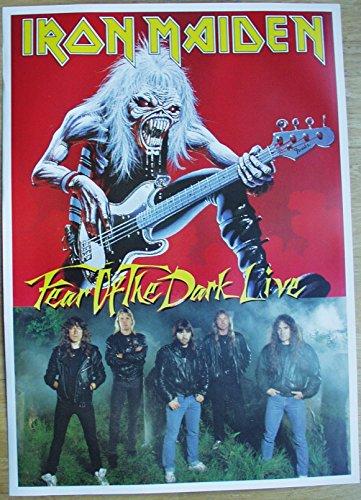 Iron Maiden Poster Nr. 1 Format 62 x 86 cm Original von 1994