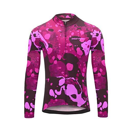 Uglyfrog Winter MTB Damen Thermo Fleece Cold Wear Warm Windjacke Radfahren Windundurchlässige Mountainbike Fahrrad-Kleidung