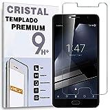 REY Protector de Pantalla para VODAFONE Smart Ultra 7 Cristal Vidrio Templado Premium