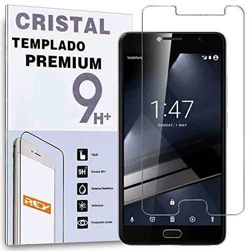 REY Protector de Pantalla para VODAFONE Smart Ultra 7 Cristal Vidrio Templado...