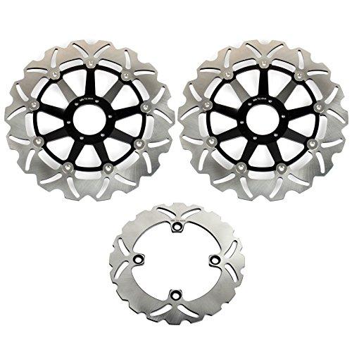 TARAZON Bremsscheiben Rotoren Set vorne hinten 3 pcs passende CB 600 F CB F 600 HORNET / 599 S F2 PC34 PC36 PC38 00-06