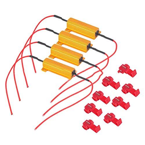 WINOMO Résistance de charge 50 W 6 ohms pour clignotants LED SMD
