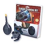 Carson Kit de Limpieza del Sensor de la Cámara Fotográfica: Soplador y Lupa