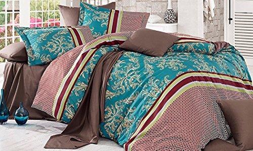 Top Shop deBleu Couette 100% Coton Simple Riva 135 x 200 + 1 taie 80 x 80