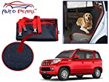 Auto Pearl Make Red Black Car Pet Seat Cover for - Tuv 300