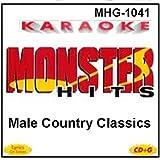 Monster Hits Karaoke #1041 - Male Country Classics