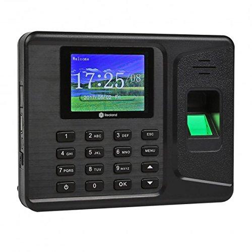 "Anself A-E260 Sistema de huella digital 2.8"", negro"