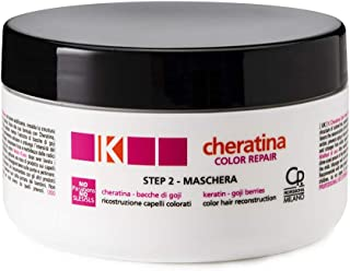 K-Cheratina - Color Repair Maschera con Cheratina - Ricostruzione a Base di Cheratina per Capelli Colorati e Decolorati - ...