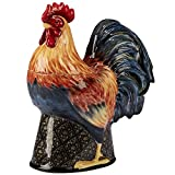 Certified International 11.25' Gilded Rooster 3-D Cookie Jar, One Size, Multicolor
