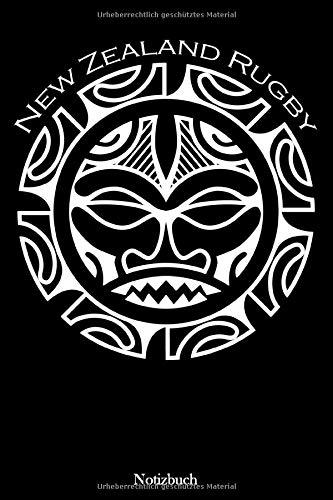 Notizbuch: Maori Neuseeland Rugby | Für Notizen, To-Dos und viels mehr |104 Seiten | Format ca. A5 | (German Edition)