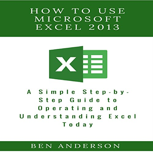 How to Use Microsoft Excel 2013  By  cover art