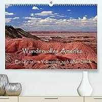 Wundervolles Amerika (Premium, hochwertiger DIN A2 Wandkalender 2022, Kunstdruck in Hochglanz): Eine Reise vom Yellowstone nach White Sands. Traumhafte Bilder von unbeschreiblichen Landschaften. (Monatskalender, 14 Seiten )