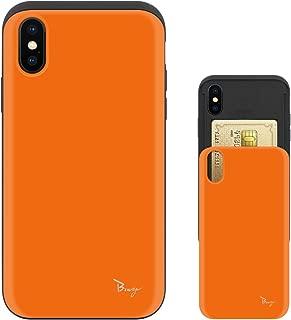 iPhone Xs Max ケース iPhoneXs Max ケース TPU バンパー Bumper 耐衝撃 カード入れ マット加工 ワイヤレス充電対応 スマホケース 擦り傷防止 保護フィルム Breeze 3DP 正規品 [IXSMJP202BN]