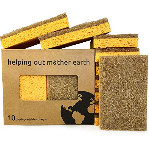 Eco-Friendly Kitchen Sponge Pack for Sustainable Living