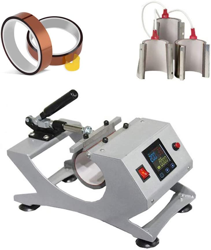INTBUYING 3in1 Combine Sublimation Mug Machi Press Transfer Heat Max 60% OFF ! Super beauty product restock quality top!