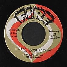 i need your loving 45 rpm single