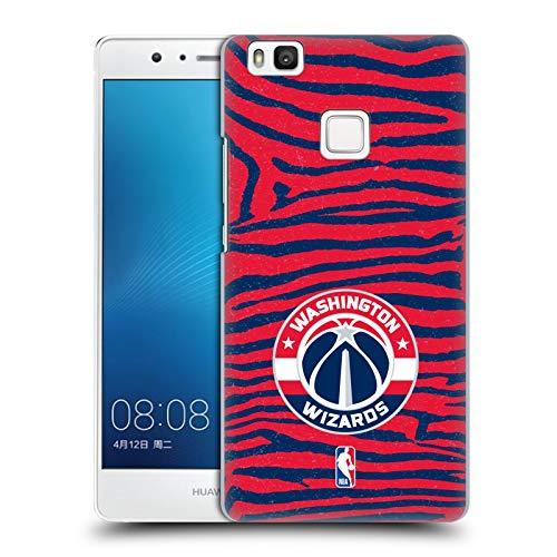 Head Case Designs Oficial NBA Estampado Animal de Cebra Washington Wizards 3 Carcasa rígida Compatible con Huawei P9 Lite / G9 Lite