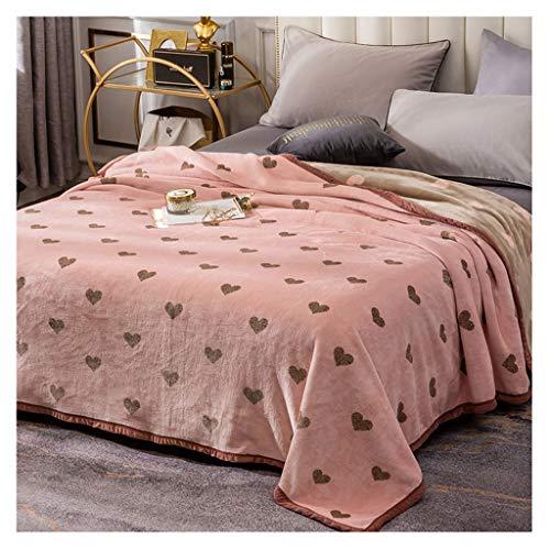 Deken Koraal Fleece Quilt Dunne Nap Handdoek Ademend Zacht en Comfortabel LITTLE