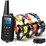 Dog Training Collar for Dogs, 2600 ft Range Dog Shock Collar with Remote