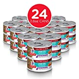 Hill's Science Diet Wet Cat Food, Adult 11+ for Senior Cats, Healthy Cuisine, Seared Tuna & Carrot Recipe, 2.8 oz Cans, 24-pack