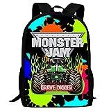 Unisex Casual Digger_Grave School Bag For Child Daypacks Rucksack Backpack Zipper