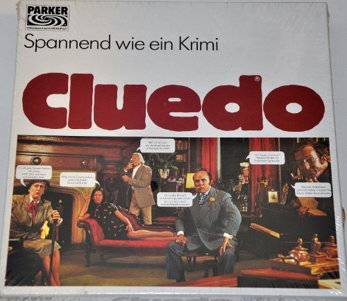 Cluedo Classic - Das klassische Detektiv Spiel, quadratische Ausgabe