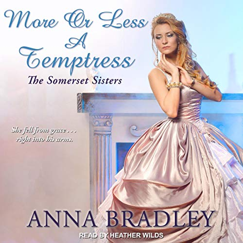 More or Less a Temptress audiobook cover art