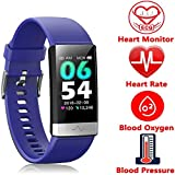 Fitness Tracker, Activity Tracker Watch with Heart Rate Monitor Sleep Monitor Blood Pressure Call Reminder,IP68